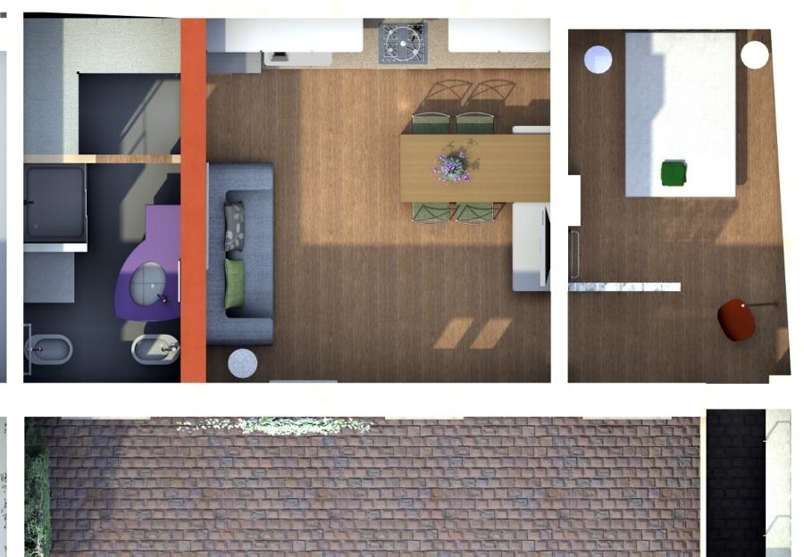 Progetto ristrutturazione bilocale idee ristrutturazione for Progetto ristrutturazione casa gratis