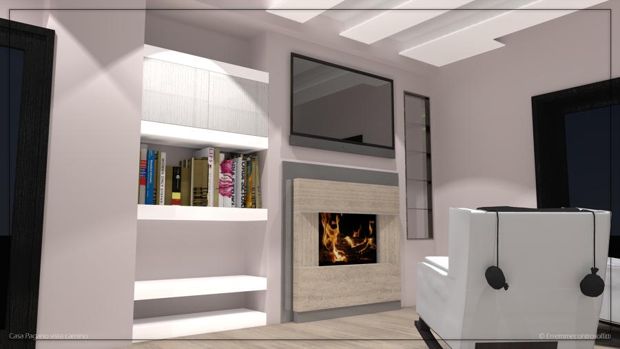 Progetto render per ristrutturazione di un appartamento a for Idee ristrutturazione casa