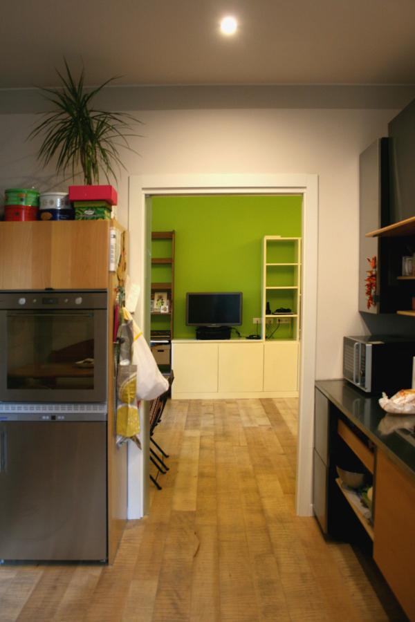 Vista della sala dalla cucina