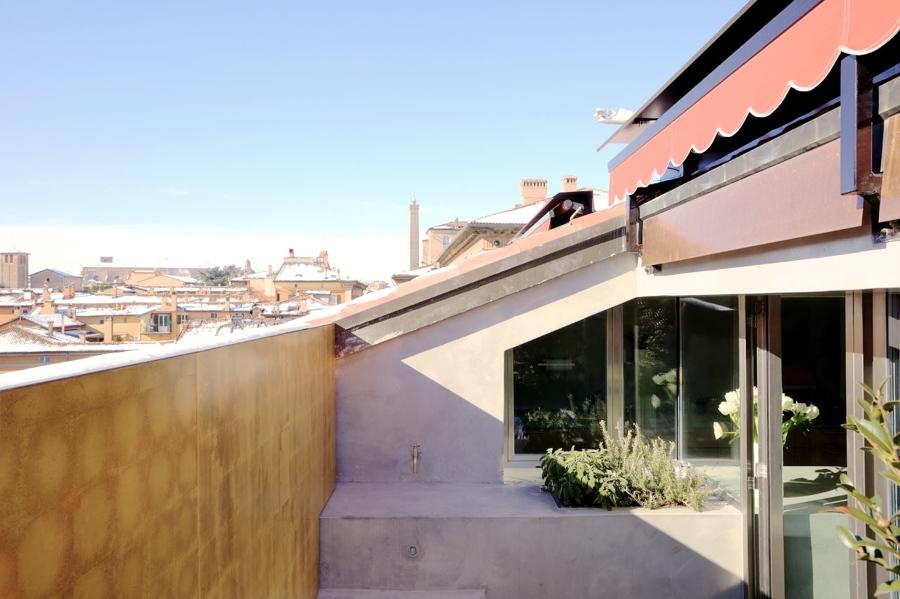 Vista esterna terrazzo