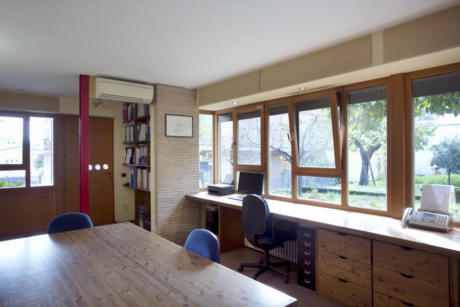 Vista interna delle finestre