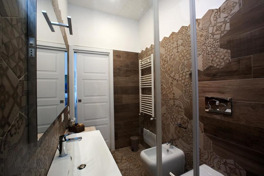 vista laterale bagno