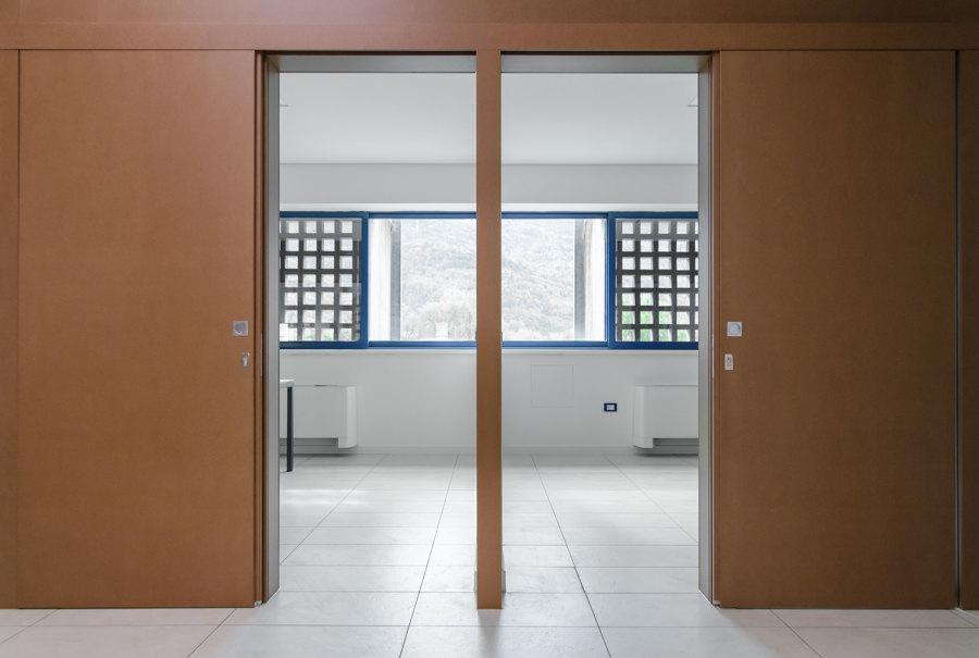 vista portale ingresso sud aperto