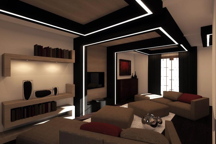 progetto di interni soggiorno idee architetti