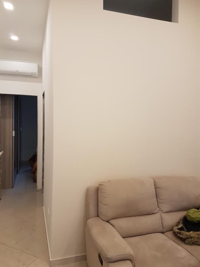 vista sul corridoio e zona notte