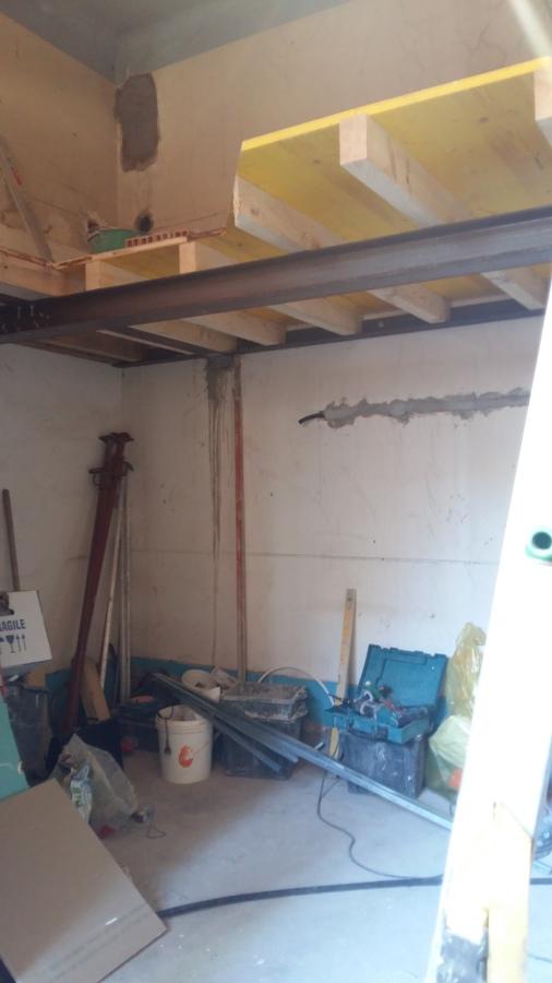 Work in progress (struttura del soppalco- FASE 2)