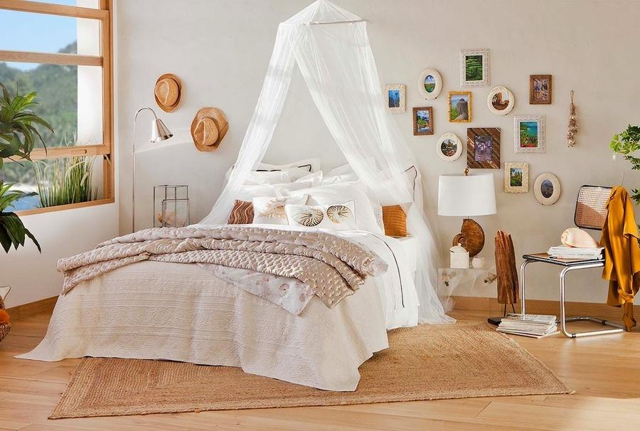 Foto zanzariera in camera da letto di valeria del treste - Zanzariera da letto ...