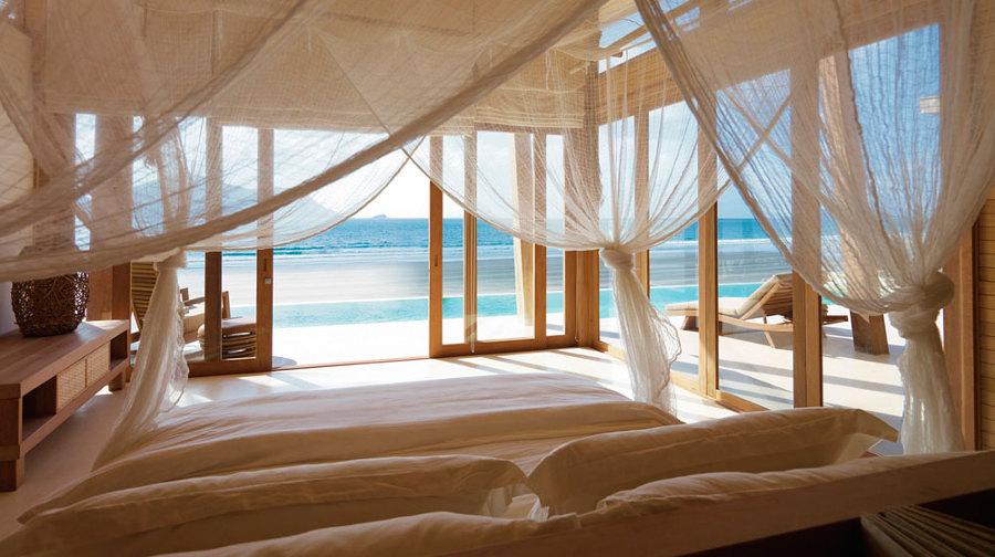 Foto zanzariera nella camera da letto di valeria del - Zanzariera da letto ikea ...