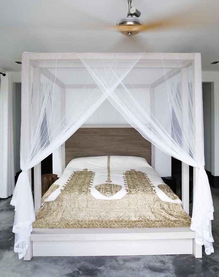 Zanzariere per dormire meglio e svegliarsi con pi energia - Camera da letto con baldacchino ...