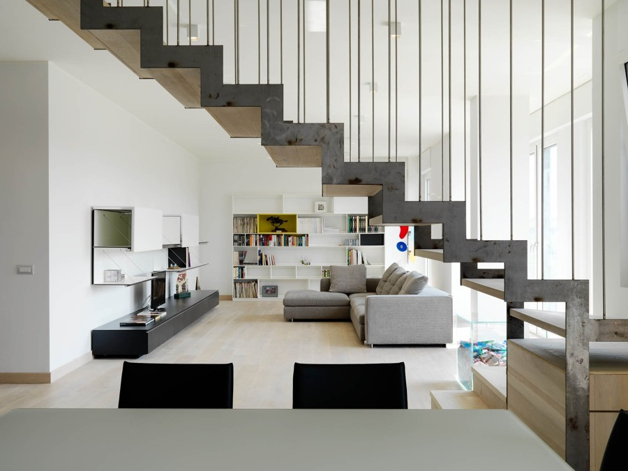 Ristrutturazione di un appartamento duplex idee for Idee piano appartamento