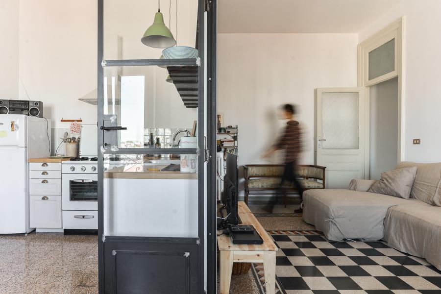 Prima e dopo appartamento romano idee ristrutturazione casa for Idee ristrutturazione appartamento