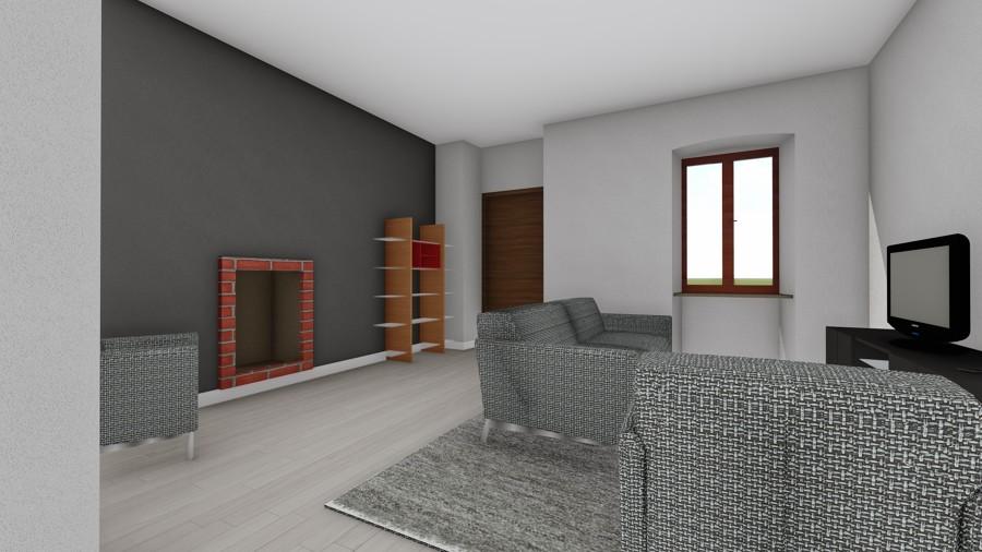 Zona giorno - Versione 1