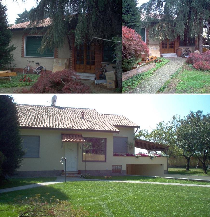 Casa unifamiliare nell 39 hinterland milanese idee architetti for Casa unifamiliare tradizionale