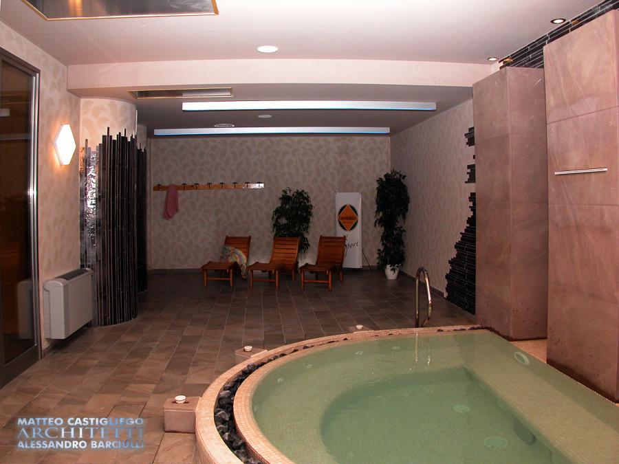 Zona Relax e piccola Spa