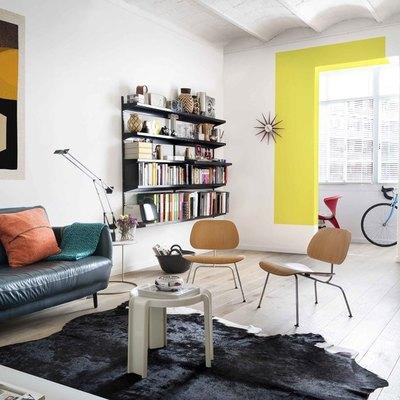 Prima e dopo: una casa piena di colore