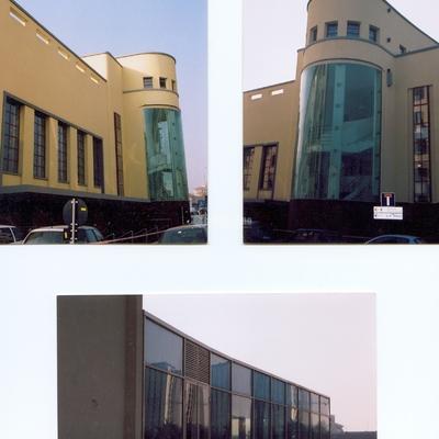 Progetto realizzazione Facciate con strutture metalliche con vetri