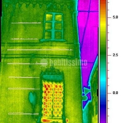 Progetto termografia palazzo storico