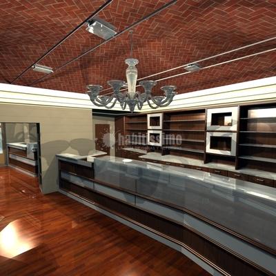 Progetto per Restyling Caffe' Regio di Torino