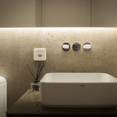 Bagno ospiti - particolare lavabo