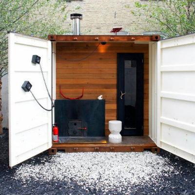 Idee e foto di saune casalinghe per ispirarti habitissimo - Saune casalinghe ...