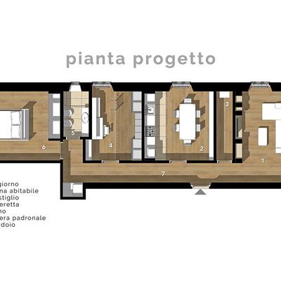 Ristrutturazione di un appartamento storico a Firenze