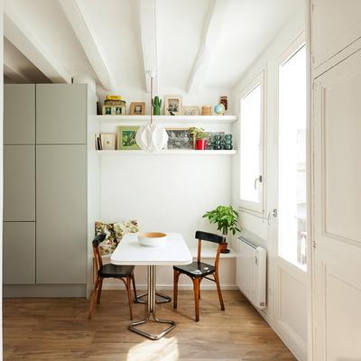 Un appartamento dagli spazi ampi, pieni di luce