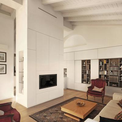 Prima e dopo di un progetto di interior design su misura