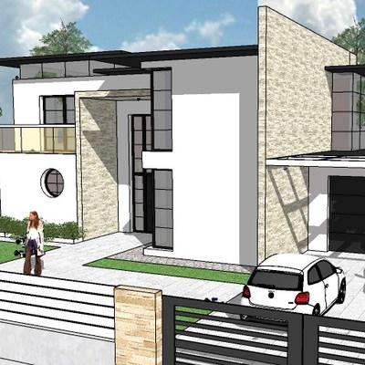 Casa con Studio