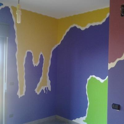 la meraviglia dei colori in movimento