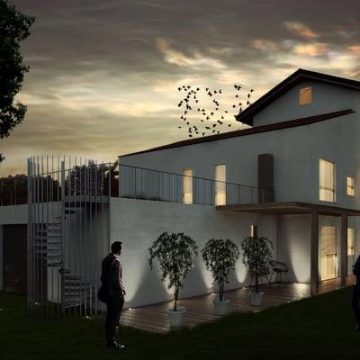 Progetto_Residenziale_Casa Prefabbricata_Rivara (TO)