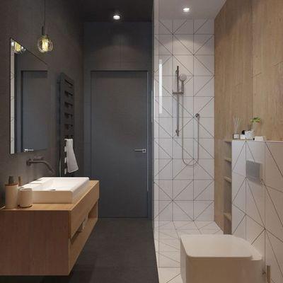 7 consigli per un bagno lungo e stretto