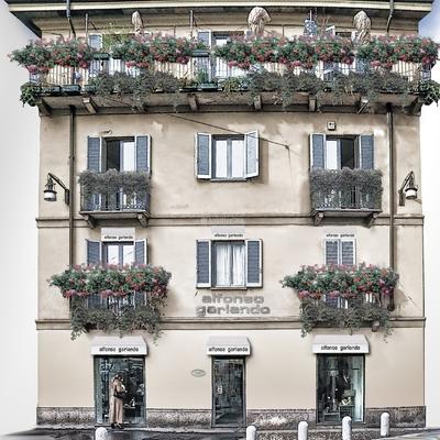 Progetto Ristrutturazione Alfonso Garlando Milano - Negozio di Calzature