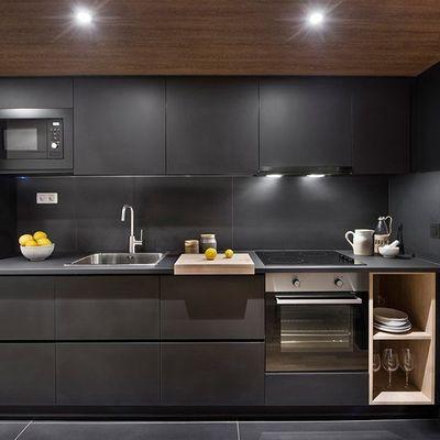 Bianco e nero, lo yin e lo yang delle cucine