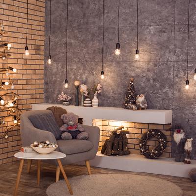 Idee fai da te per decorare casa per Natale con l'aiuto dei bambini