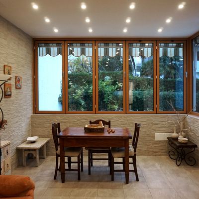 Ristrutturazione con ampliamento di un  appartamento privato