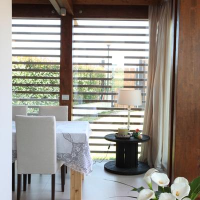 progetto Armonia contemporanea di un ampliamento abitativo in legno