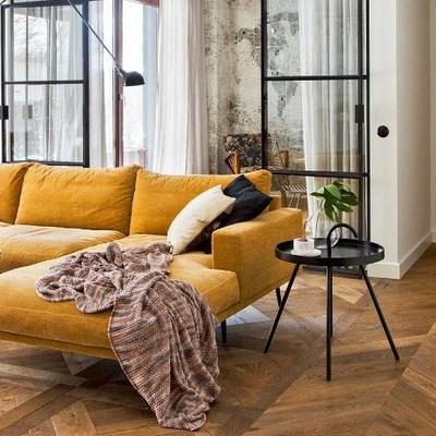 Un appartamento alla moda nel centro di Varsavia