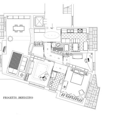 Progetto Ristrutturazione Appartamento Monteverde