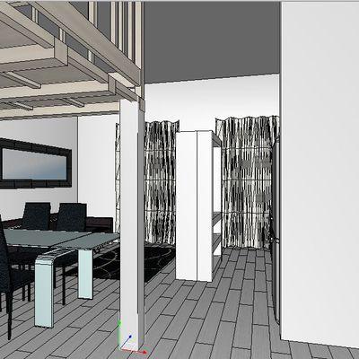 Progetto di ristrutturazione appartamento in Roma zona Flaminio
