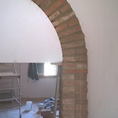 arco in muratura pietra a vista