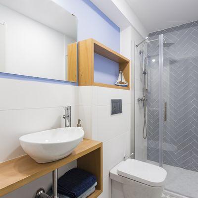 Spazio in bagno: 6 esempi per sfruttarlo al massimo
