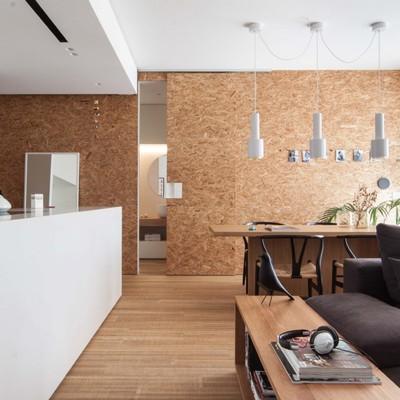 Open space e modulazione degli spazi per una famiglia moderna