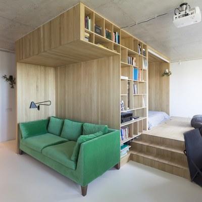 7 soluzioni per vivere alla grande in una casa piccola
