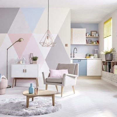 Arredare casa con decori geometrici