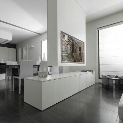 Design Interni: Modern Loft Arredato su Misura