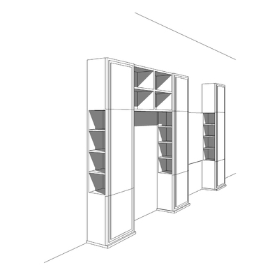 Progetto realizzazione di un armadio su misura a Bracciano (RM)