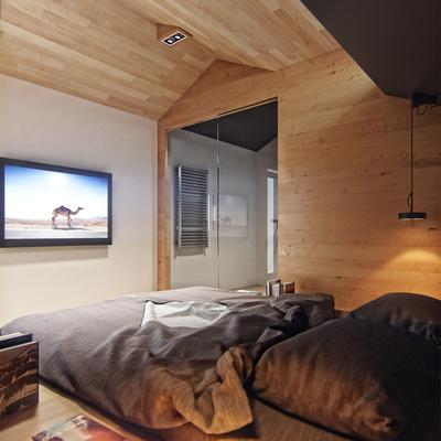 Novità del mese: un bagno moderno che affaccia sulla camera da letto