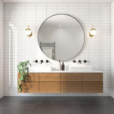 Come avere un bagno più moderno in 6 mosse