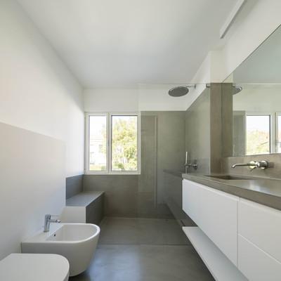Cemento resina informazioni costi e consigli habitissimo - Resina pareti bagno costi ...