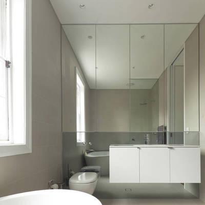 Idee e foto di rivestimenti bagno per ispirarti habitissimo - Altezza specchio bagno ...